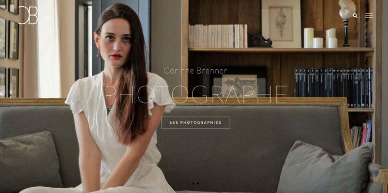 Site Internet de Corinne Brenner