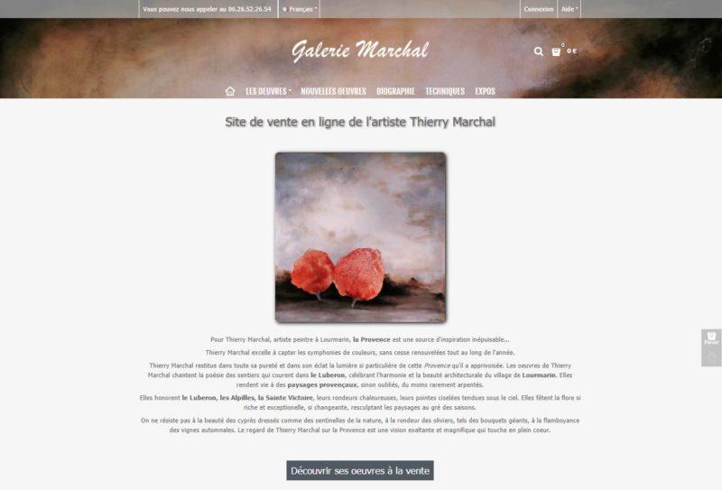 Galerie Thierry Marchal - Galerie d'art à Lourmarin
