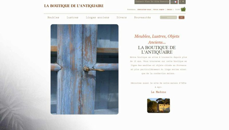La boutique de l'Antiquaire