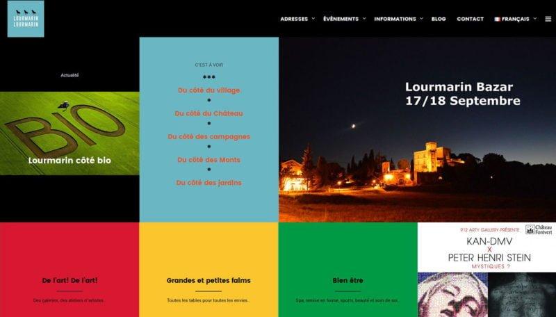 Association Lourmarin Lourmarin - Site internet