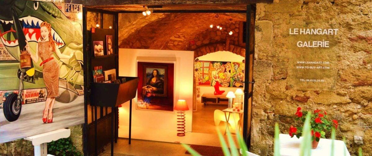 Galerie Le Hangart à Lourmarin