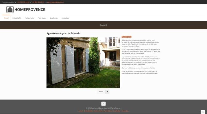 visite virtuelle de maison à louer
